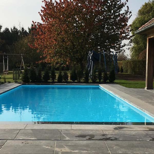 Landelijk zwembad aanleggen - VDP Landscaping & Pools
